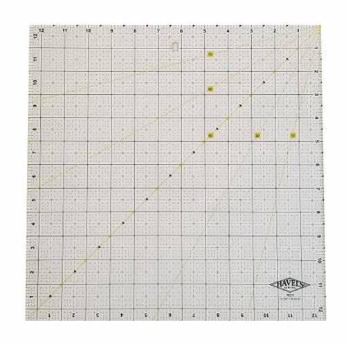 """Havels -  Square Fabric Ruler 12.5"""""""
