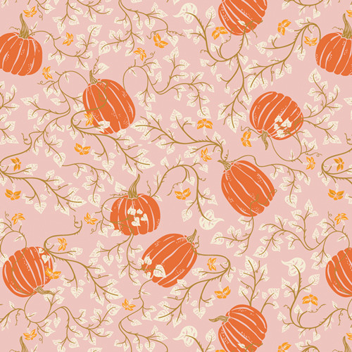 Art Gallery Fabrics - Through the Pumpkin Patch - Spooky 'n Sweet - By AGF Studio