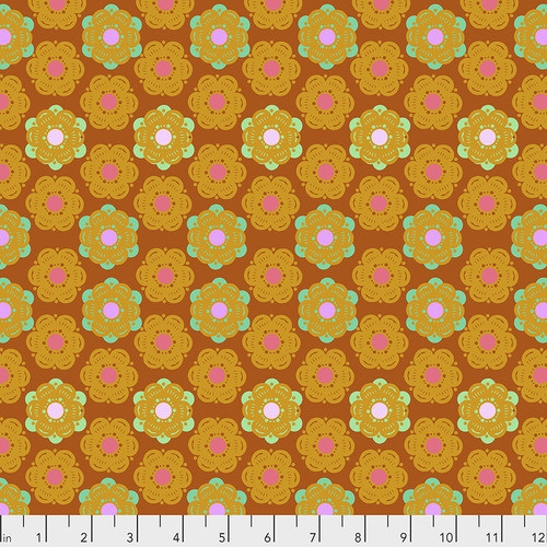 Free Spirit Fabrics - Honeycomb Sunset - Hindsight - By Anna Maria Horner
