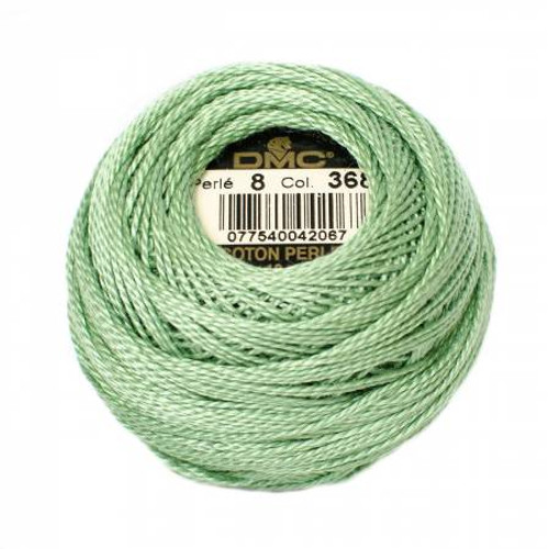 DMC - Pearl Cotton Balls - Size 8 - Pistachio Green - Color 368