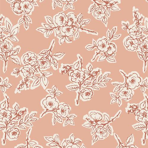 Rambling Rose Briar - Spirited - Sharon Holland - Art Gallery Fabrics
