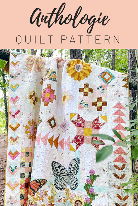 Anthologie Quilt Pattern - Paper Pattern