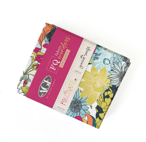 Pollinate FQ Precut - 12 pieces - Jessica Swift