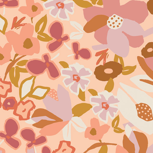 Art Gallery Fabrics - Desert Flora - Terra Kotta - By AGF Studio