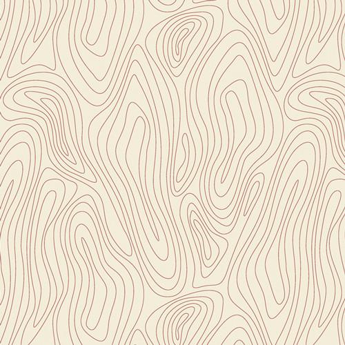 Rippling Terrain - Terra Kotta - AGF Studio - Art Gallery Fabrics