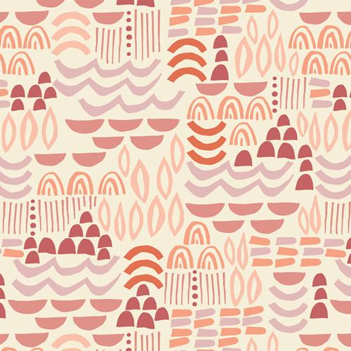Art Gallery Fabrics - Artisanal Blocks - Terra Kotta - By AGF Studio