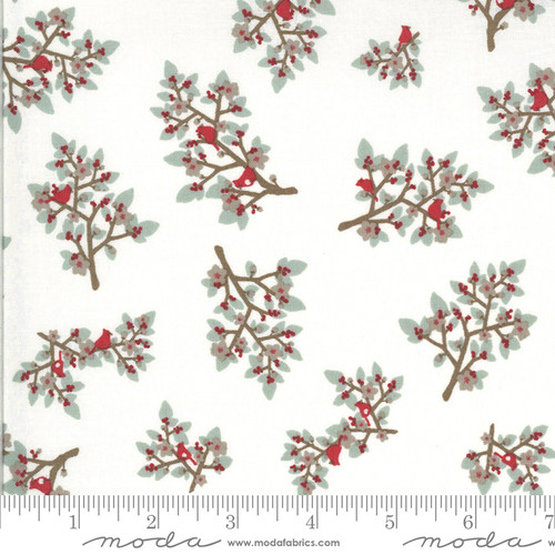 Moda Fabrics - Mistletoe Snow - Juniper - Kate & Birdie Paper Co.