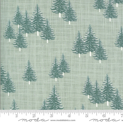 Moda Fabrics - Trees Frost - Juniper - Kate & Birdie Paper Co.