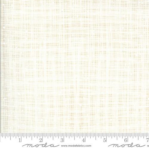 Moda Fabrics - Burlap Snow - Juniper - Kate & Birdie Paper Co.