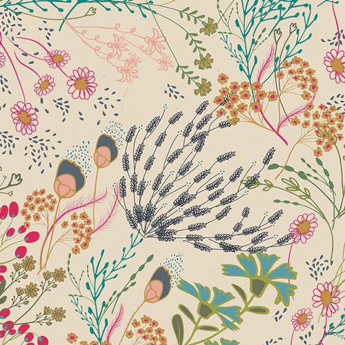 Art Gallery Fabrics -Meadow Vivid - Indie Folk - Pat Bravo
