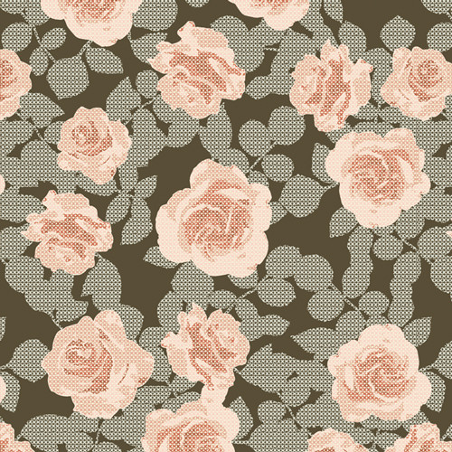 Art Gallery Fabrics - Maybelle's Stitches - Her & History - By Bonnie Christine