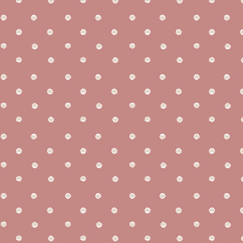 Art Gallery Fabrics - Allium Specks Rose - Earthen - By Katarina Roccella