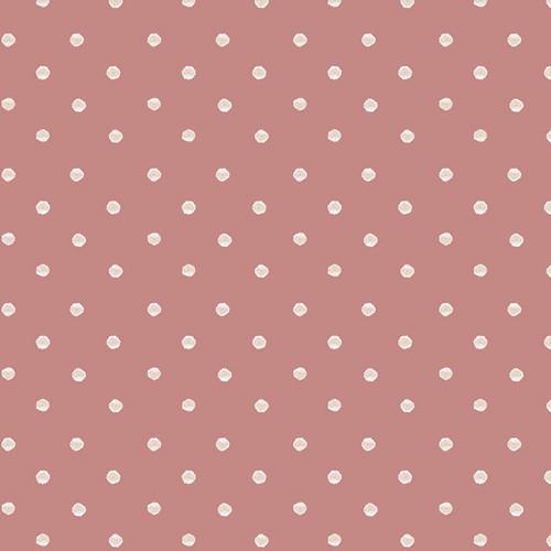 Art Gallery Fabrics - Allium Specks Rose - Earthen - By Katarina Roccella
