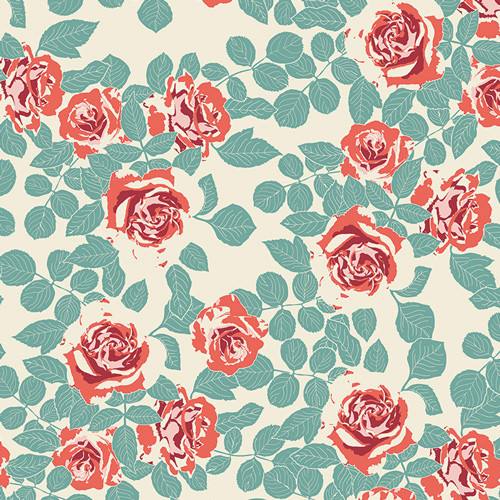 Art Gallery Fabrics - Pruning Roses Woodlands - Woodland Fusion - Bonnie Christine