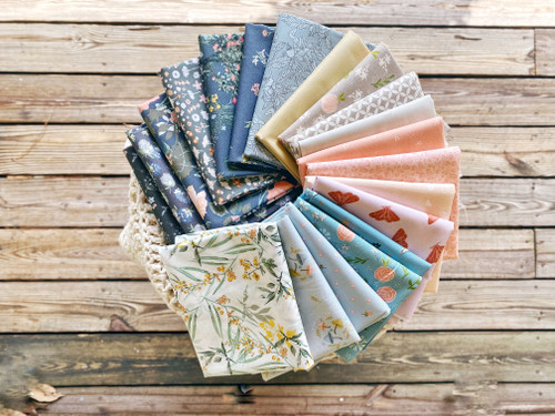 Morning Glory Bundle - 20 fat quarters - Created especially for the Anthologie Quilt