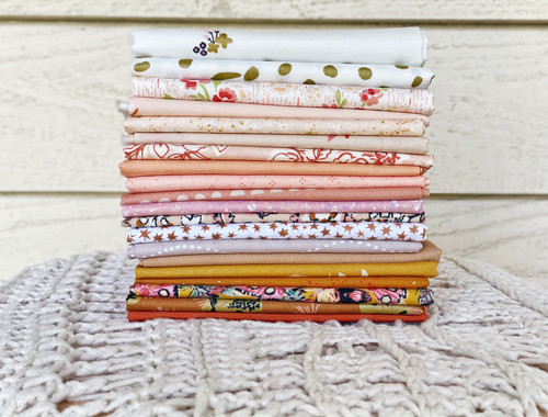 Ginger Fawn Bundle - 20 fat quarters - Created especially for the Anthologie Quilt
