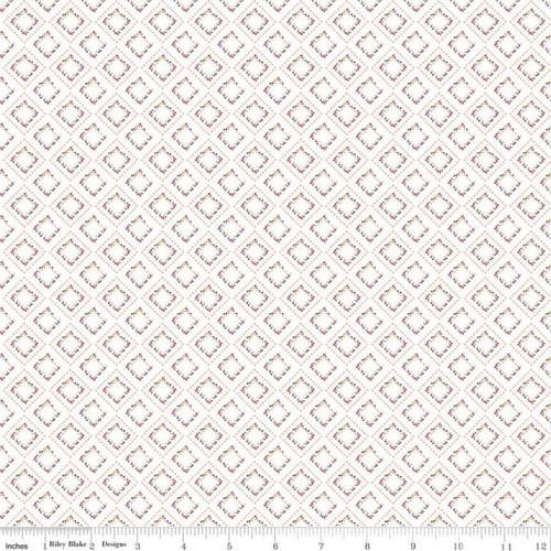 Riley Blake Fabrics - Pavement Cream - Idyllic - Minki Kim