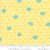 Moda Fabrics - Floral in Mango Cream - Fine and Sunny - By Jen Kingwell