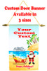 Cruise Ship Door Banner -  available in 3 sizes.     Holiday Beach