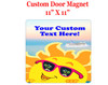 "Cruise Ship Door Magnet - 11"" x 11"" - Fun in the Sun"