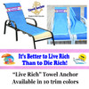 "Towel Anchor - ""Live Rich"""