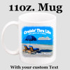Cruise & Beach theme Custom 11 oz. mug.  Great gift for friends & family or as a special memento for you!  (010