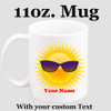 Cruise & Beach theme Custom 11 oz. mug.  Great gift for friends & family or as a special memento for you!  (024