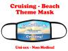 Mask.  Cruising and Beach theme mask - design 002