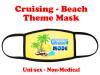 Cruising and Beach theme mask - design 005