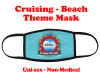 Cruising and Beach theme mask - design 014