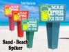 Beach - Sand Spiker.  Keep your drinks sand free.  Design 017