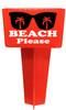 Beach - Sand Spiker.  Keep your drinks sand free.  Design 021