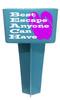 Beach - Sand Spiker.  Keep your drinks sand free.  Design 027