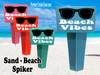 Beach - Sand Spiker.  Keep your drinks sand free.  Design 030