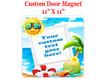 "Cruise Ship Door Magnet - 11"" x 11"" - Sign 2"