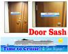 Cruise cabin door sash - 001