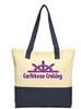 Cruise and Beach Tote Bag - Caribbean Cruising