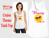 Cruise theme tank top - Vacay