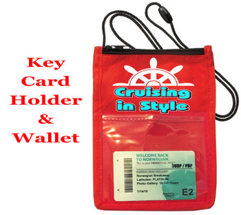 Cruise Card Holder - Choice of color. Design 004