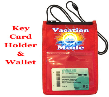 Cruise Card Holder - Choice of color. Design 005