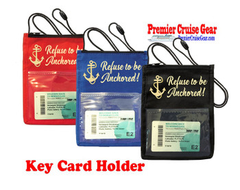 Cruise Card Holder - Choice of color. Design 010
