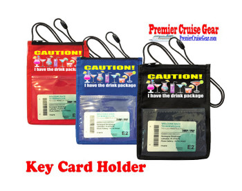 Cruise Card Holder - Choice of color. Design 013