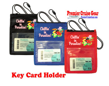 Cruise Card Holder - Choice of color. Design 015