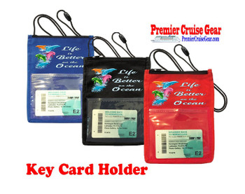 Cruise Card Holder - Choice of color. Design 016