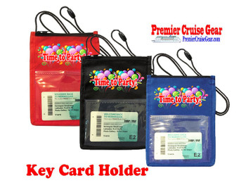 Cruise Card Holder - Choice of color. Design 018