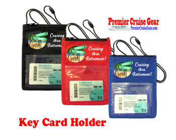 Cruise Card Holder - Choice of color. Design 019