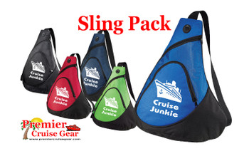 Cruise Sling Pack.  Large sling pack to carry all of your gear on the ship and in the ports. (design 004