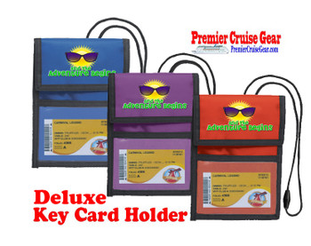 Cruise Card Holder Deluxe - Choice of color - 050