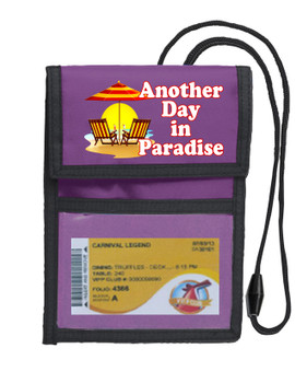 Cruise Card Holder Deluxe - Choice of color - 051