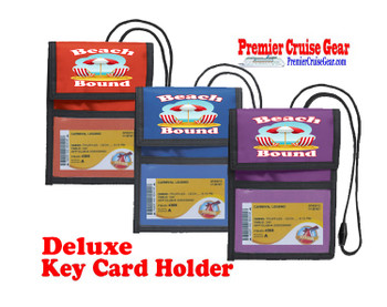 Cruise Card Holder Deluxe - Choice of color - 052